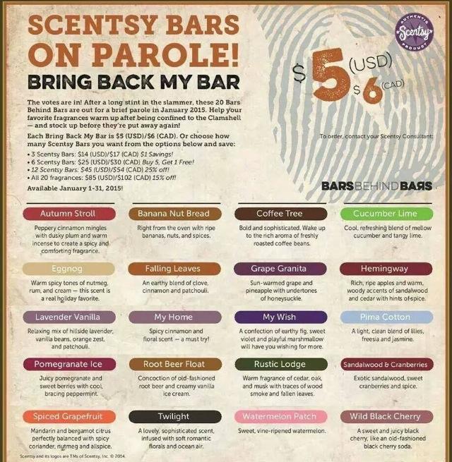 Scentsy BBMB 2015