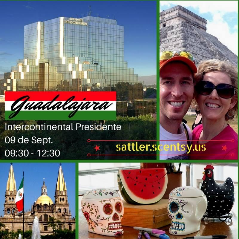 Scentsy Guadalajara Mexico Meeting