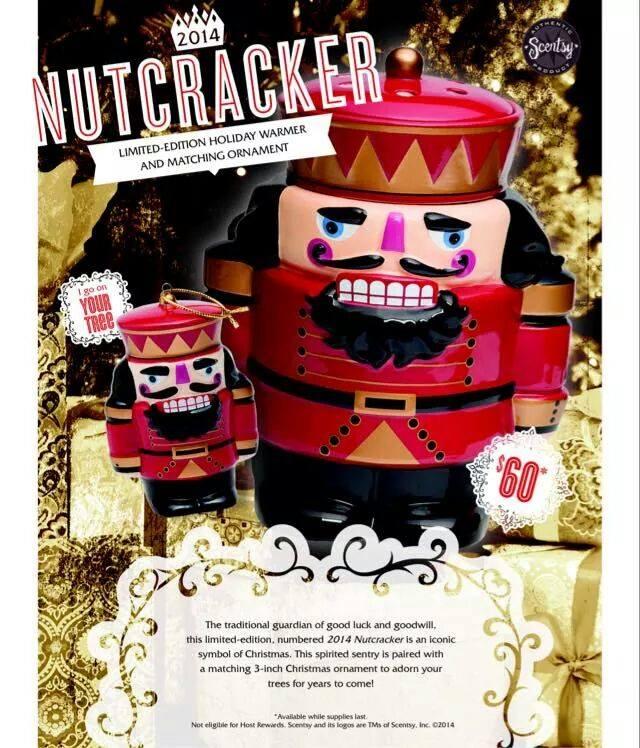 Nutcracker Warmer Ornament Scentsy