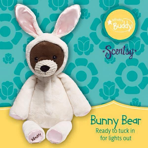 Scentsy Buddy Bunny Bear