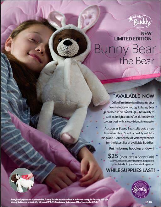 Buy Bunny Bear Scentsy Buddy