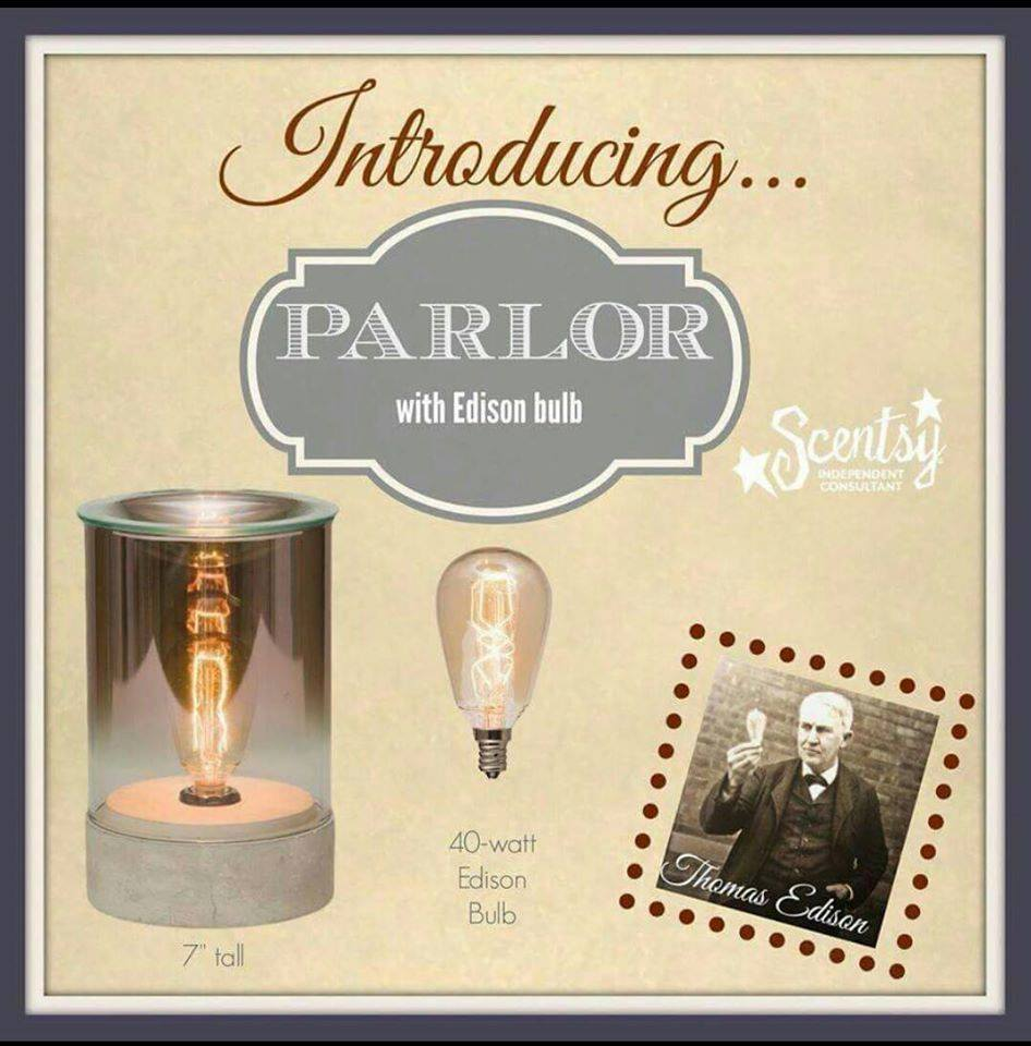 Parlor Edison Bulb Scentsy Warmer