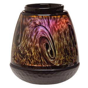 Glass Scentsy Tigers Eye Warmer