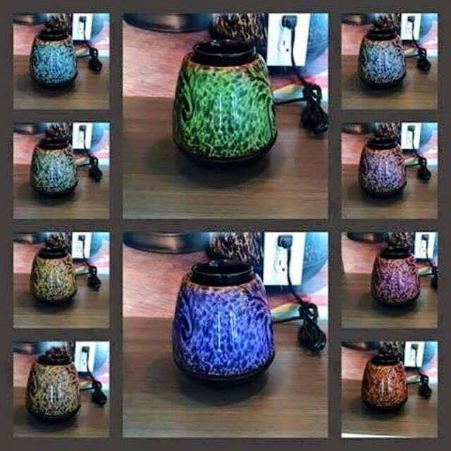 Tigers Eye Scentsy Color Change
