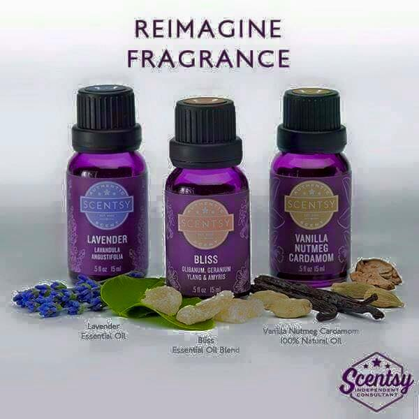 Scentsy natural essential oils