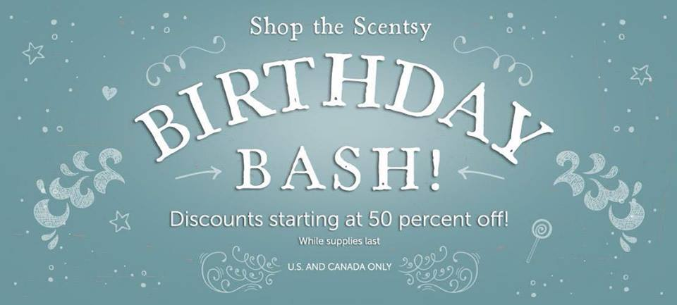 Scentsy Birthday Sale