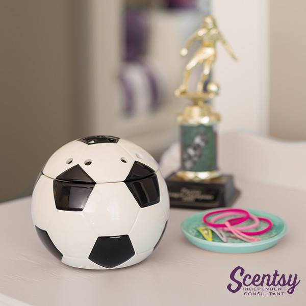 Scentsy Soccer Ball Warmer Goal
