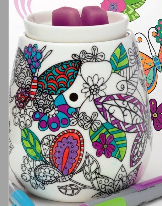 Coloring Butterflies Reimagine warmer