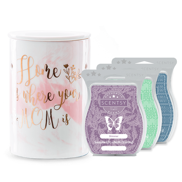 Scentsy Mom Warmer Bundle