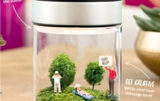 New! Scentsy Terrarium Warmer Make a Scene