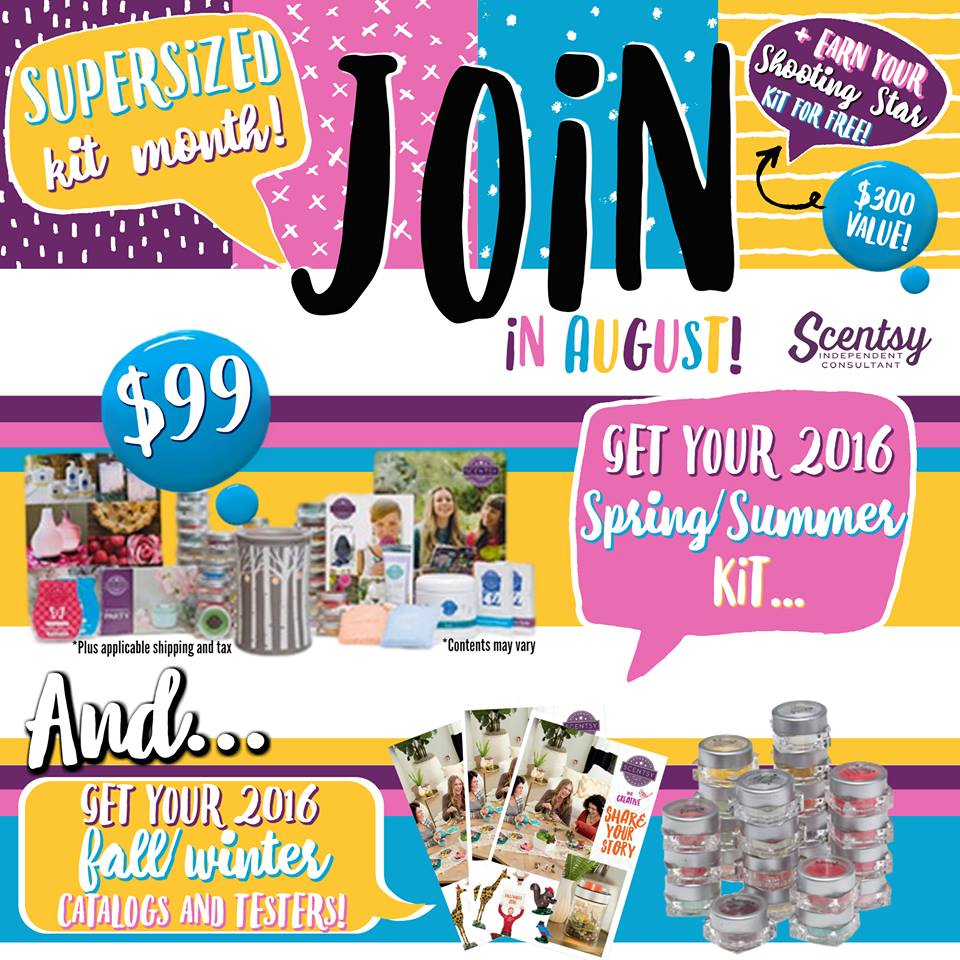 Join Scentsy Bonus Kit