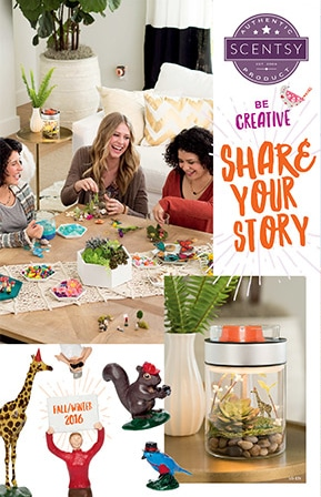 Scentsy Fall/Winter Catalog
