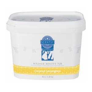 Scentsy Washer Whiffs Coconut Lemongrass