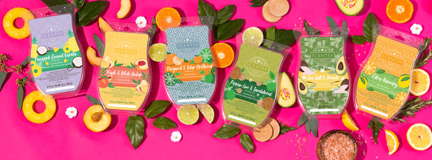 Scentsy Bricks Spring April 2017