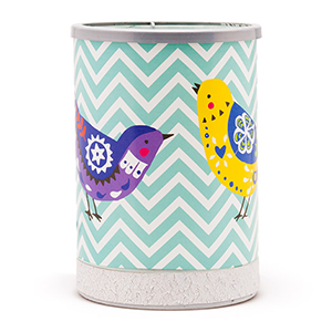 Chevrons and Songbirds Scentsy Warmer of the Month buy online