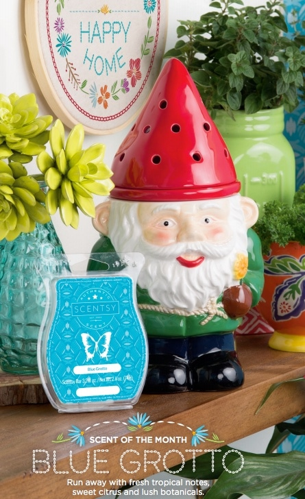 Scentsy Garden Gnome Warmer buy online