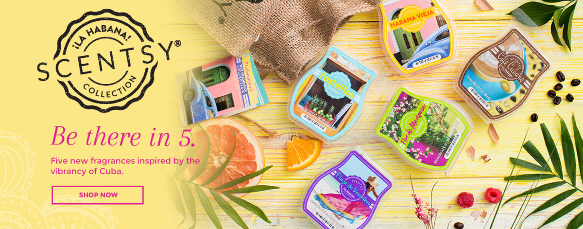 Scentsy La Habana Collection shop online