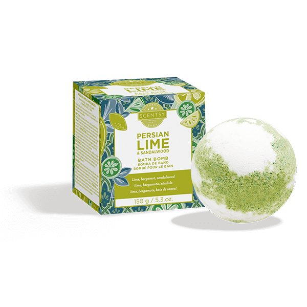 Persian Lime and Sandalwood Bath Bomb