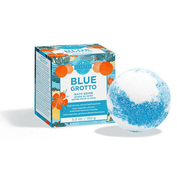 Blue Grotto Bath Bomb