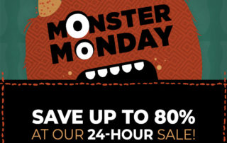 Scentsy flash sale Monster Monday