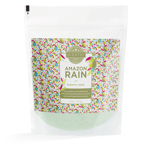 Amazon Rain Scentsy Soak