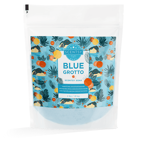Blue Grotto Scentsy Soak