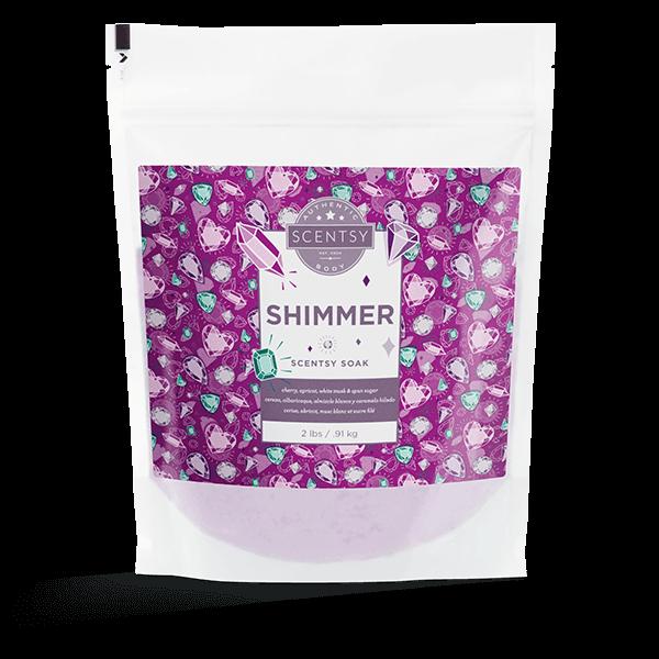Shimmer Scentsy Soak